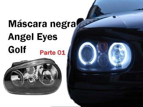 Fazer máscara negra e colocar  angel eyes em farol/Lanterna de Golf (Parte 01)