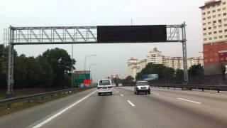 Damansara Utama Malaysia  city photos gallery : Driving Damansara Utama to Saujana