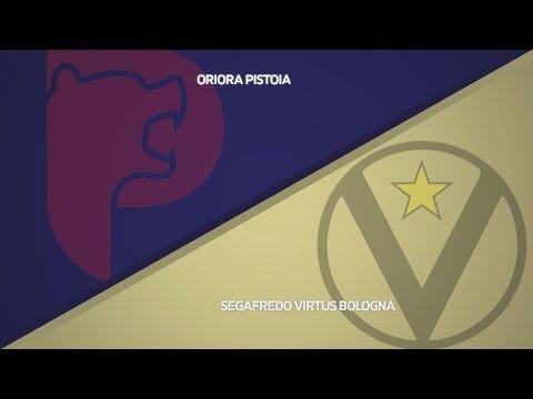 Virtus, gli highlights del match contro Pistoia