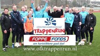 Trappenrun voor het Foppe Fonds eindigt in Abe Lenstra Stadion