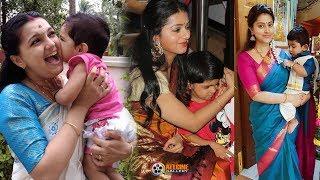 Video South Indian Actress with their Children | Tamil, Telugu, Malayalam, Kannada MP3, 3GP, MP4, WEBM, AVI, FLV Agustus 2018