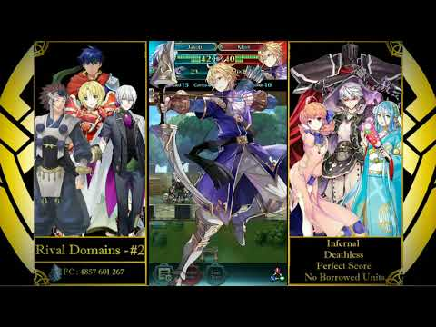 Daze's Rival Domains #2 - Infernal/Deathless/Perfect score/No Borrowed Units!