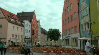 Fussen Germany  city photo : GERMANY Füssen, Bavaria (hd-video)