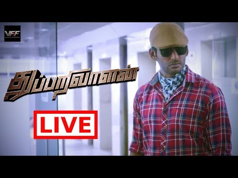 Live with Thupparivaalan Team