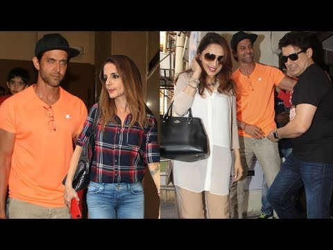 Video Hrithik Roshan Watches Ittefaq Movie With His Ex Wife Sussanne Khan & Madhuri Dixit download in MP3, 3GP, MP4, WEBM, AVI, FLV January 2017