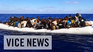 "Watch Part 2, ""Trapped and Forgotten"" - http://bit.ly/1Cwjv9k Watch Part 3, ""Escaping Hell"" - http://bit.ly/1xCZ5nP As Libya ..."