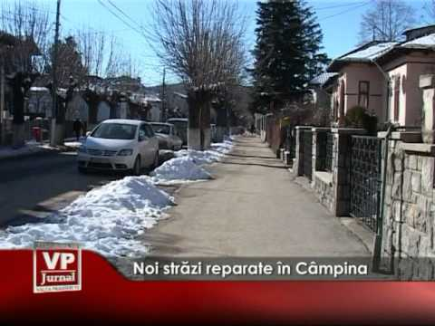 Noi străzi reparate în Câmpina