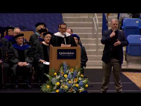 Joseph Natarelli Quinnipiac University Graduate Commencement 2018