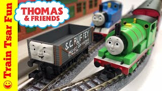 Brand New! For July 2017 - the Tomix #93811 Percy and Scruffey Pack. We compare it to an older Tomix Percy and play with it on our N Scale Tomix track. The older set I think is better because of the changeable faces, but the new set has S.C.Ruffey!Kid and family friendly videos about toy trains, real trains, and more!Thomas the Tank Engine, Chuggington, LEGO trains, and more fun!Please SUBSCRIBE for more Train fun: http://bit.ly/1v93HUTMy LEGO Channel: http://www.youtube.com/user/bricktsarMy Toys Channel: http://www.youtube.com/user/jolson37My Son: http://www.youtube.com/user/theymightbebricksMy daughter: http://www.youtube.com/user/sowhosthatgirlMrs. BrickTsar: http://www.youtube.com/user/seagrove697My Website: http://www.traintsarfun.comHelp support our channel by buying on Amazon: http://amzn.to/2aUvc1fLEGO on Amazon: http://amzn.to/2aEgHxVInstagram: http://www.instagram.com/traintsarfunFacebook: http://www.facebook.com/traintsarfunTwitter: http://www.twitter.com/traintsarfunRoyalty Free Music:Kevin MacLeod (incompetech.com)Licensed under Creative Commons: By Attribution 3.0http://creativecommons.org/licenses/by/3.0