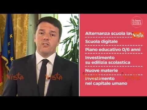 riforma scuola: renzi spiega i punti principali!