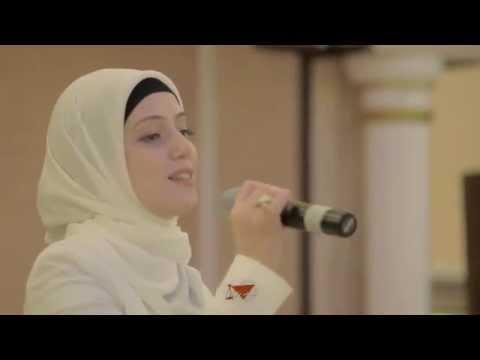 Мусульманка поет по русски,влюбиться можно (видео)