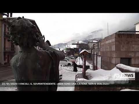 22/01/2020 | VINCOLI, IL SOVRINTENDENTE: «NON SONO UNA CATENA, SERVE DIALOGO»