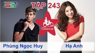 Phùng Ngọc Huy vs. Hạ Anh | LỮ KHÁCH 24H | Tập 243 | 091114