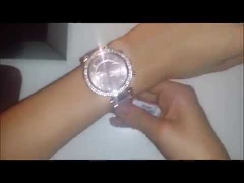 Unboxing - Michael Kors Damenuhr MK5896 (roségold)