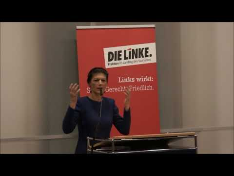 Sahra Wagenknecht zu Sammlungsbewegung für soziale Gere ...