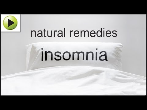 Insomnia - Natural Ayurvedic Home Remedies