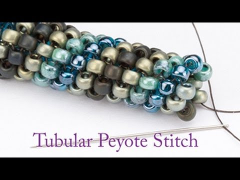 Artbeads Mini Tutorial - Tubular Peyote with Leslie Rogalski