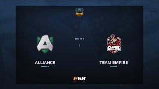 Alliance vs Team Empire, Game 1, Dota Summit 7, EU Qualifier