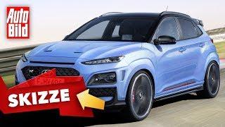 Hyundai Kona N (2020): Neuvorstellung - Skizze - SUV - Infos - deutsch by Auto Bild