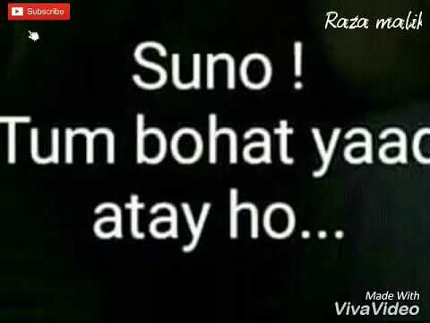 Video Suno tum laut  Aao na..😥😥sad remix song for status 👈👈👈 download in MP3, 3GP, MP4, WEBM, AVI, FLV January 2017