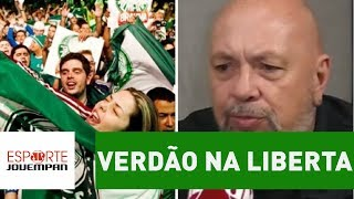 O locutor Nilson Cesar, da Rádio Jovem Pan, disse que não ficaria surpreso se, mesmo cambaleando, o Palmeiras conquistasse...