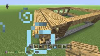Minecraft: PlayStation®4 Edition how to build a house