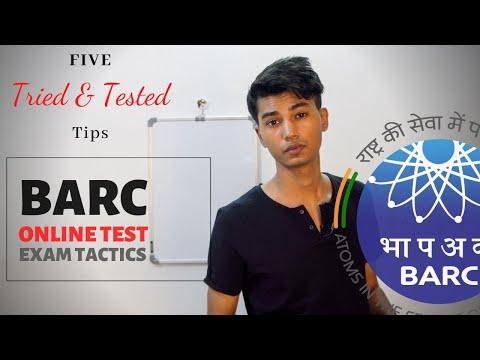 BARC Exam Tactics