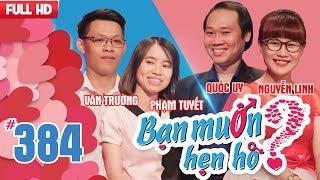 Video WANNA DAT  EP 384 UNCUT  Van Truong - Pham Tuyet   Quoc Uy - Nguyen Linh    140518 💖 MP3, 3GP, MP4, WEBM, AVI, FLV Mei 2018