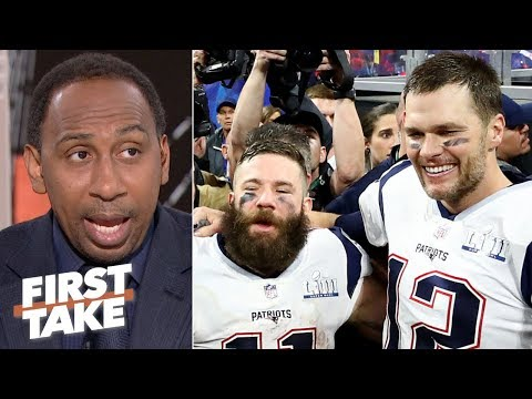 Video: Julian Edelman's injury is concerning since he's Tom Brady's X-factor - Stephen A. | First Take