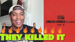 G-Eazy - Endless Summer Freestyle (Audio) Ft YG | Reaction