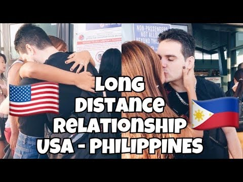 LONG DISTANCE RELATIONSHIP STORY 2017 | USA & PHILIPPINES | FILIPINA AND AMERICAN