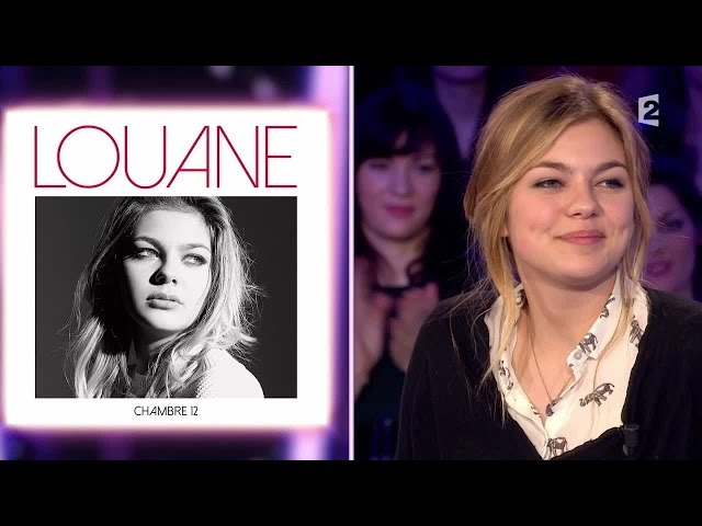 Louane emera on nest pas couch 7 for Louane emera chambre 12