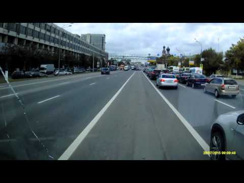 В сети появилось продолжение ролика о водителе BMW