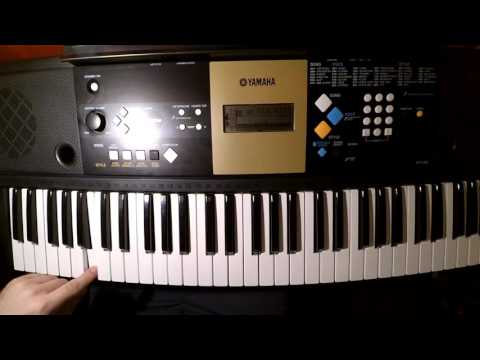 Yamaha Ypt-220 Review And Sample Play