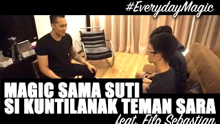 Video Sulap di bantu kuntilanak feat. Filo Sebastian MP3, 3GP, MP4, WEBM, AVI, FLV September 2018