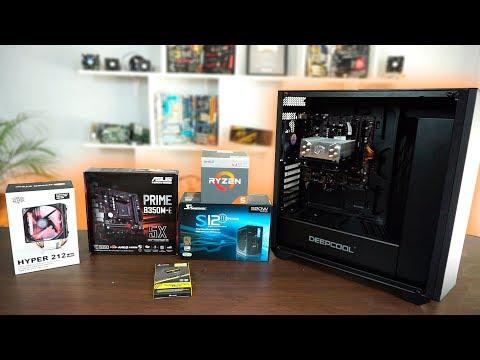 Ensamblando PC Gamer económica con Ryzen 5 2400g - Proto Hw & Tec