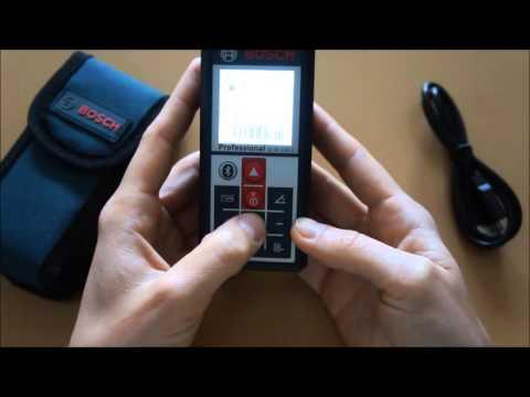 Review Opinión Medidor de Distancia Láser GLM100 C Bosch Parte 1