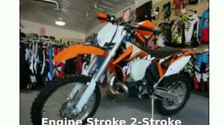 2. 2012 KTM XC 250 W - Walkaround, Features