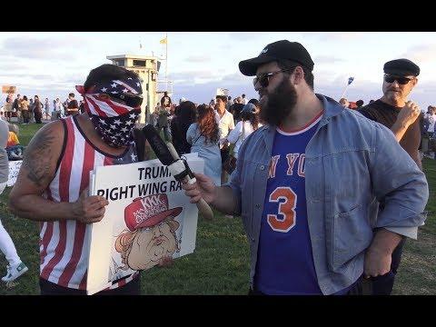 ANTIFA Gets Violent At Trump Protest in Laguna Beach | FLECCAS TALKS