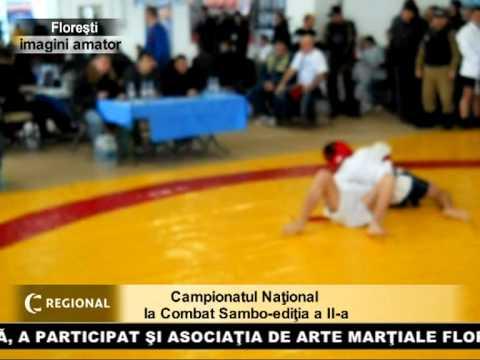 Campionatul Naţional la Combat Sambo-ediţia a II-a