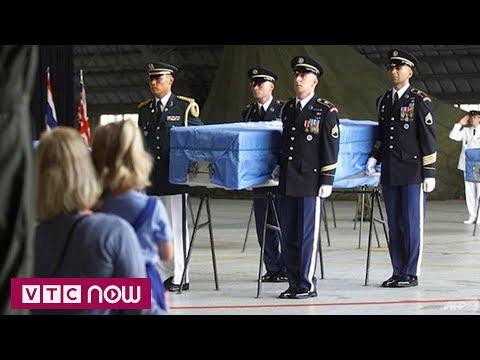 Triều Tiên sắp trao trả hài cốt lính Mỹ | VTC1 - Thời lượng: 75 giây.