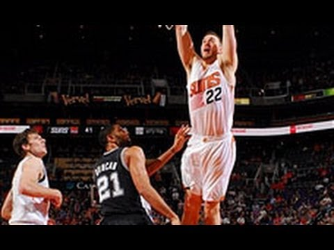 Miles Plumlee Throws Down the JAM Over Tim Duncan