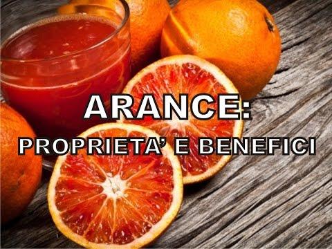 arancia: benefici, usi e proprietà.