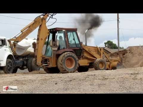 Case590 - High definition [HD] video footage, the Case 590 Turbo Backhoe and Dozer in action working, excavating, moving dirt to be hauled away. Other models include C...