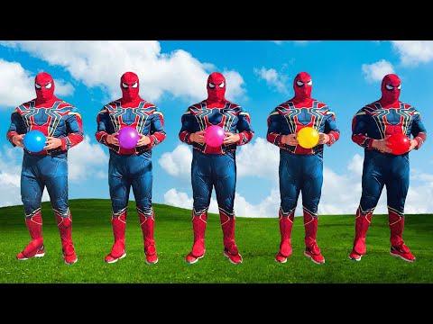 Team Spider-Man VS Siren Head