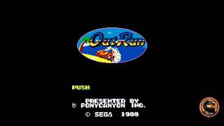 Out Run (Pony Canyon MSX2) (MSX Emulated) by omargeddon