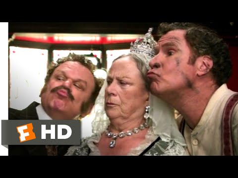 Holmes & Watson (2018) - Selfie With the Queen Scene (9/10) | Movieclips