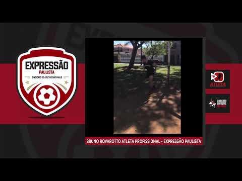 Atletas do Expressão Paulista seguem rotina de treinos em casa. Assista.