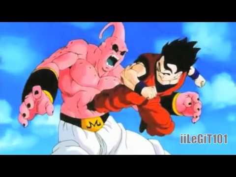 Mystic Gohan vs Super Buu