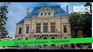 Botosani Romania  city pictures gallery : Zig Zag prin Botosani - Hyperlapse